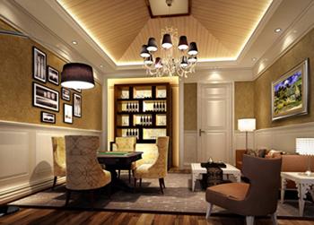 私人豪宅、豪华别墅棋牌室装修效果图欣赏