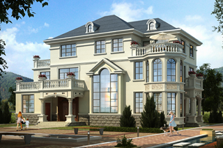 5款经典带堂屋别墅设计图,引领农村建房潮流