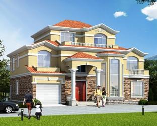 两新款别墅设计图分享,哪款更符合您的品味呢