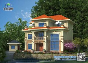 超美的农村订制三层别墅设计图,打造最满意的别墅