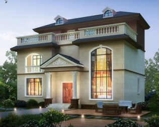 简约漂亮的新品别墅三层设计图上线