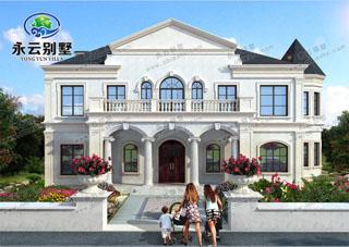 极具浪漫风情的法式别墅设计图,实体大家看了都说很赞