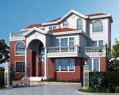 AS099哈尔滨王总设计三层漂亮别墅案例设计欣赏