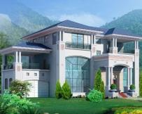 625三层带车库豪华别墅设计图纸26m×19m
