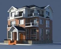 [永云别墅]AT963三层大型豪华别墅结构设计图纸13m×17m