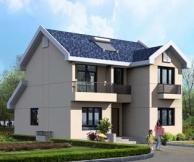 [永云别墅]AT173新农村自建房二层别墅设计图纸10m×11.5m