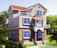 [永云别墅]AT231现代三层漂亮别墅全套施工图纸10m×10m