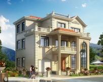 永云别墅AT202三层复式带车库别墅全套设计图纸13.4mx10.2m