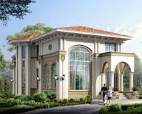 AT1719二层带地下室欧式风格私人豪华别墅全套设计图纸 12mx16m